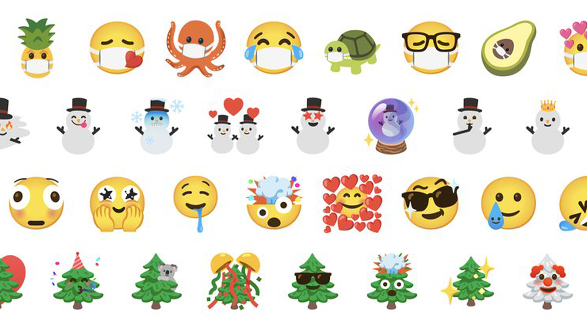 Google Emoji Kitchen new mashup options