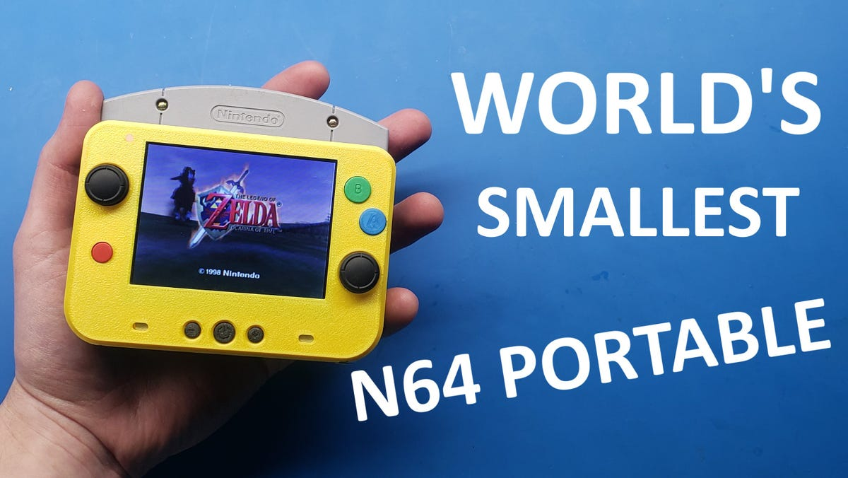 The World's Smallest N64