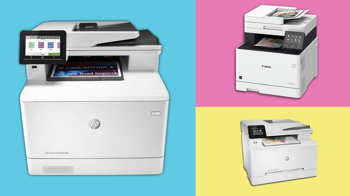 HP and Canon inkjet printers