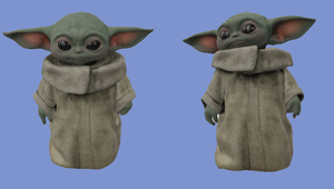 See Grogu from 'The Mandalorian' in 3D and AR in Google Search Now