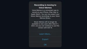 Apple's Music Memos App Is Going Away, but Voice Memos Is Better Anyway