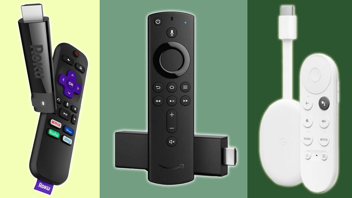 roku, Fire TV, and Chromecast