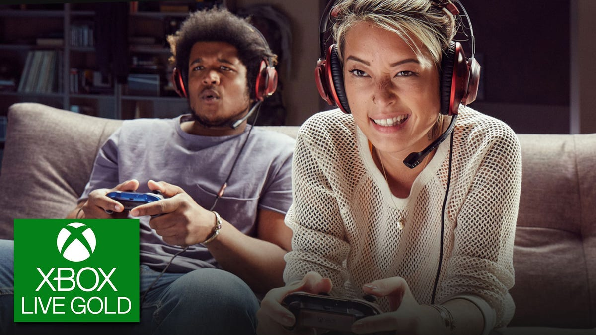 Xbox Live Gold promotional image