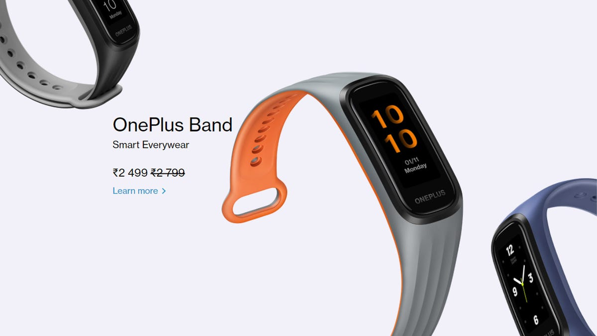 OnePlus Band store page