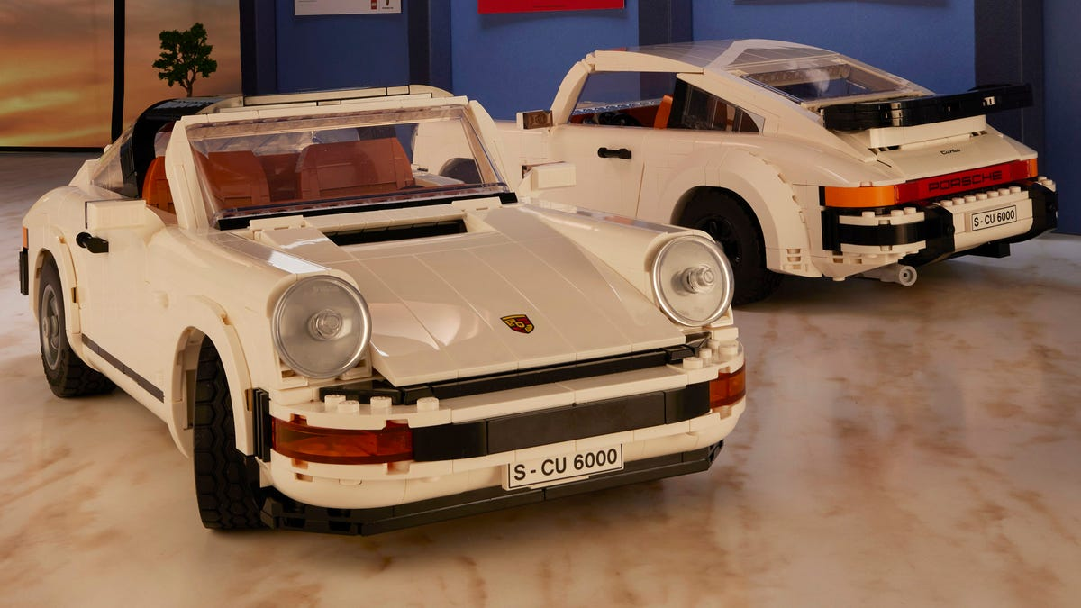 LEGO 911 Porsche turbo and targa