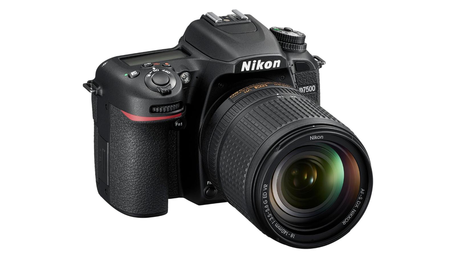 The Nikon D7500.