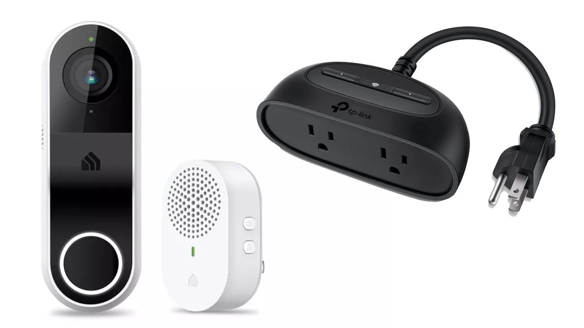 TP-Link's new smart doorbell and outdoor plug