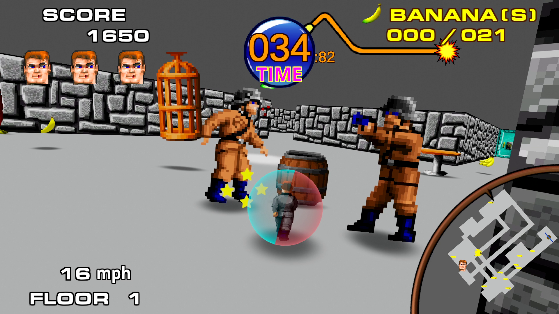 'Return to Castle Monkey Ball' Is a Free Wolfenstein Mashup You Can Play Online