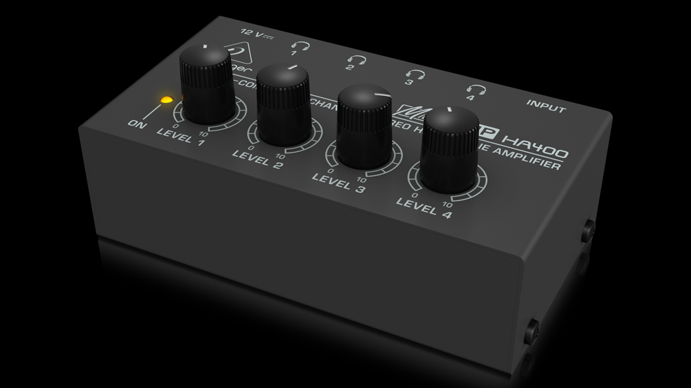 The cheap and simple Behringer HA400---a great option for studio use.
