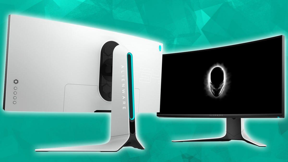 Alienware ultrawide monitor