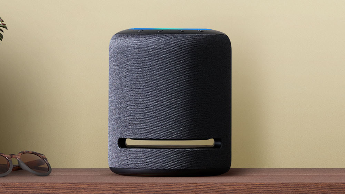 Amazon's Echo Studio smart speaker, which is the only speaker to support 360 Reality Audio.