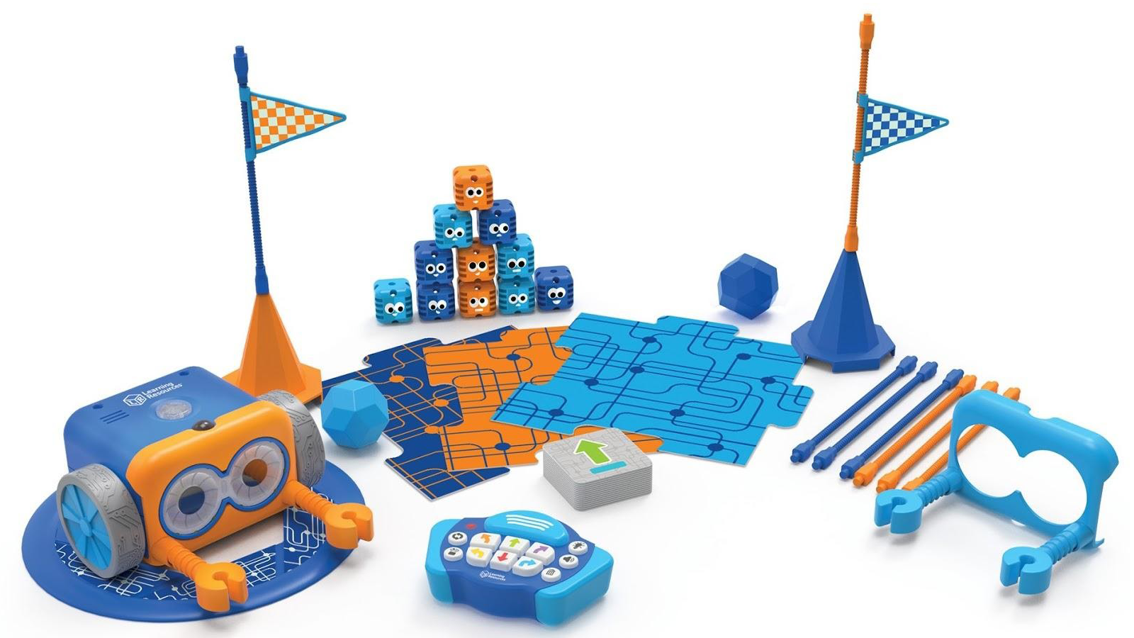 Botley 2.0 with obstacle course and other set accessories