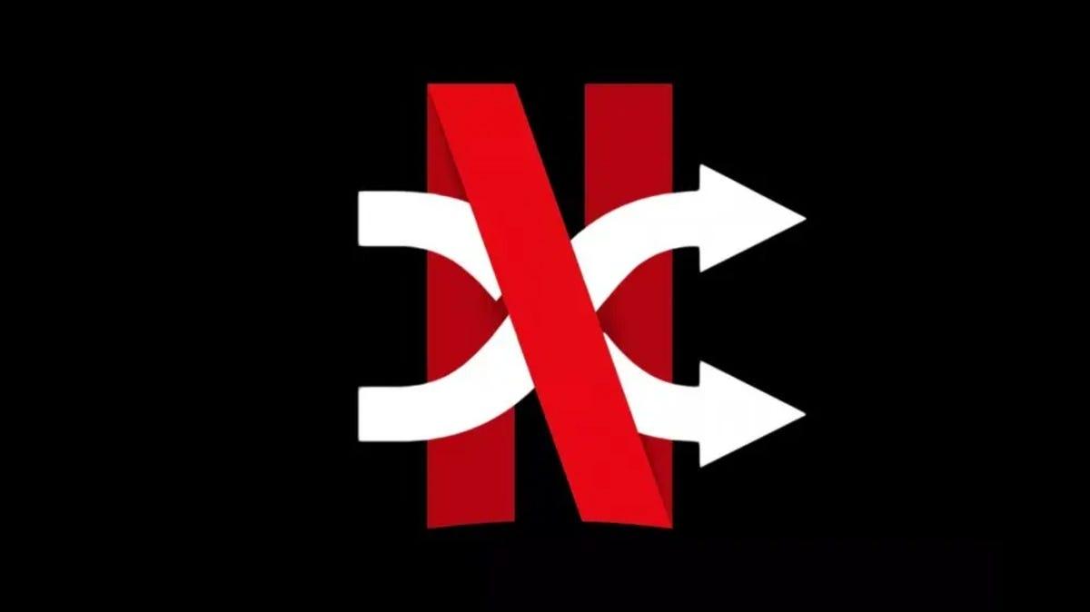 Netflix Shuffle logo