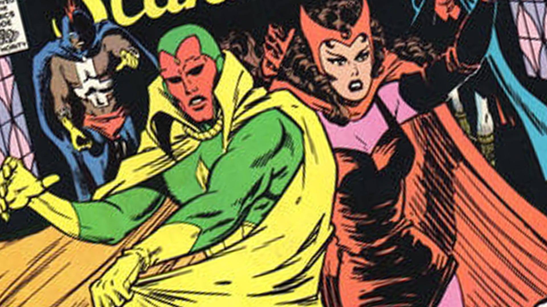 Vision and the Scarlet Witch cover