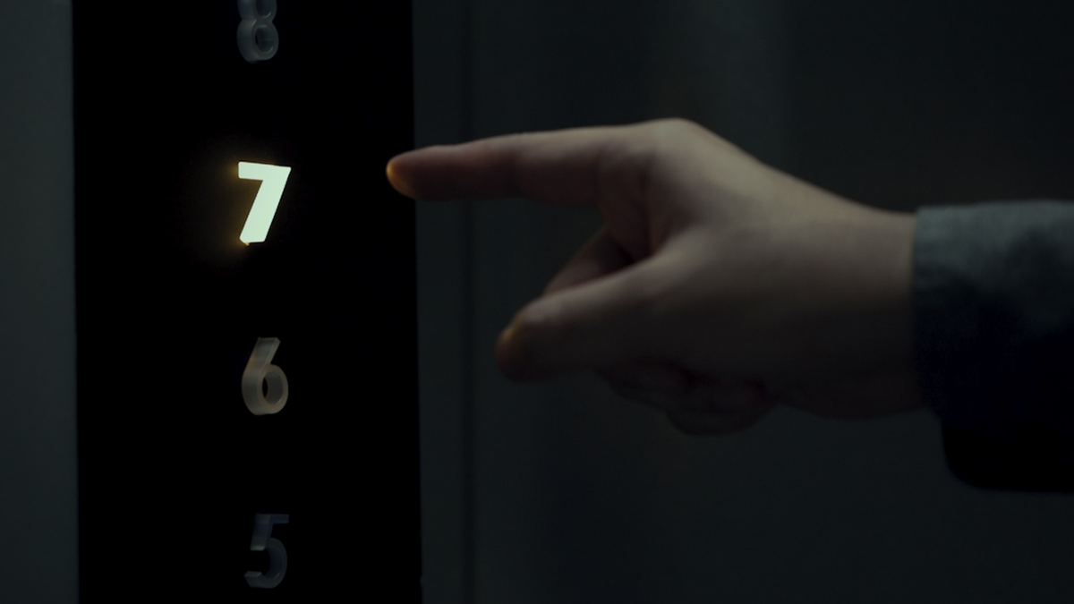 Stuck Design's Kinetic Touchless elevator buttons
