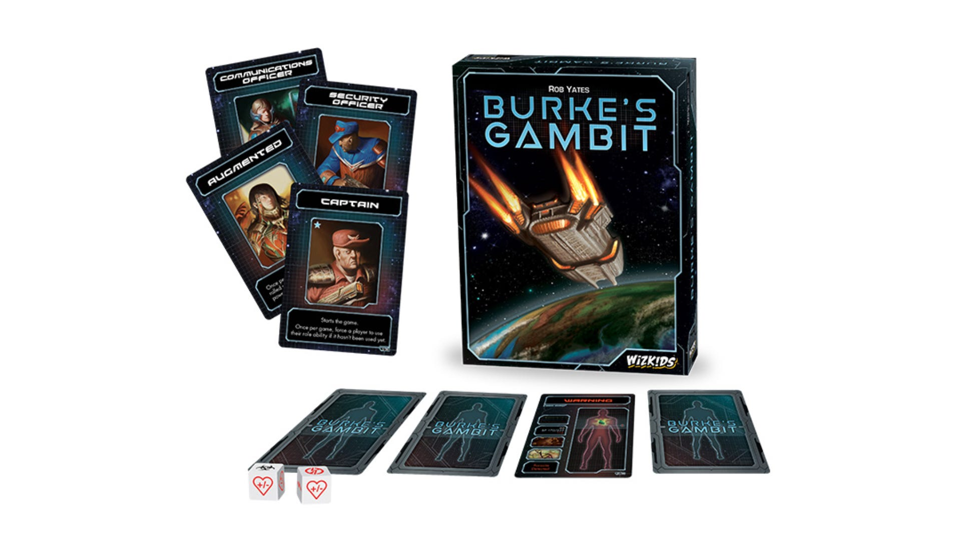 Burke's Gambit board game box art