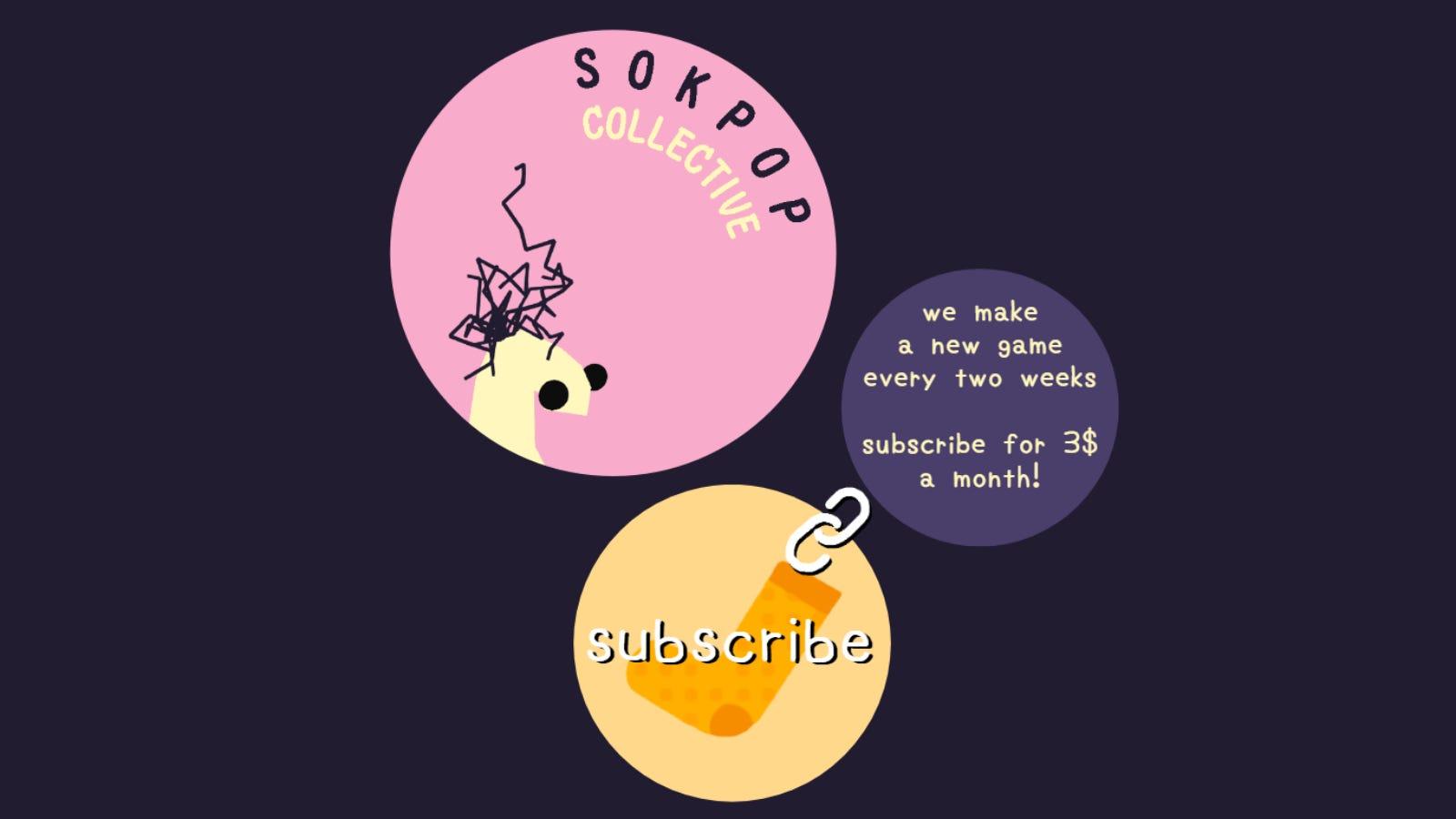 Sokpop Collective website homepage