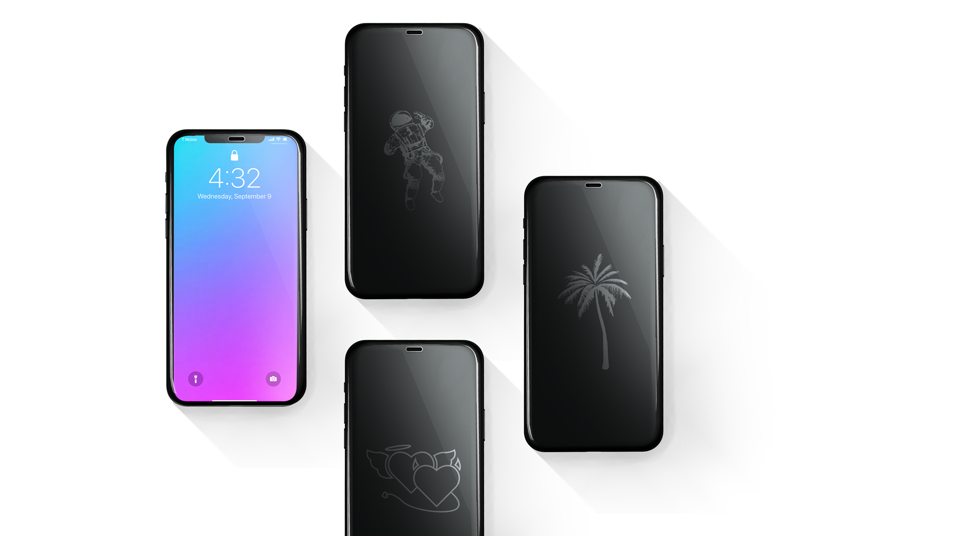 The Glassie Screen Protector Shows Your Style While Your Phone Sleeps