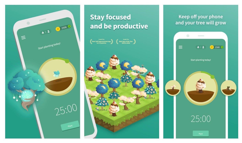 Forest tree grow app