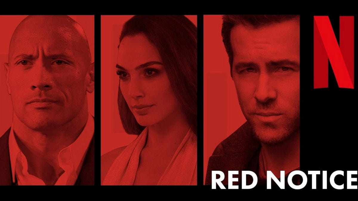 Red Notice promotional image