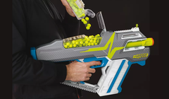 "Nerf Unholsters Its New Line of ""Hyper"" High-Capacity Quick-Shootin' Blasters"