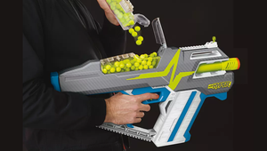 """Nerf Unholsters Its New Line of """"Hyper"""" High-Capacity Quick-Shootin' Blasters"""