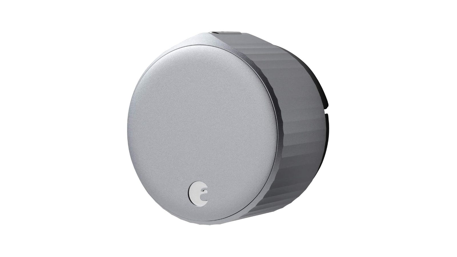 August Smart Lock against a white background