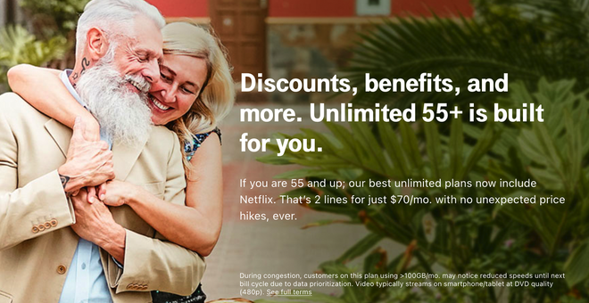 T-Mobile's 55+ Plan Adds Free Netflix, More Lines, and a 4K Streaming MAX Tier