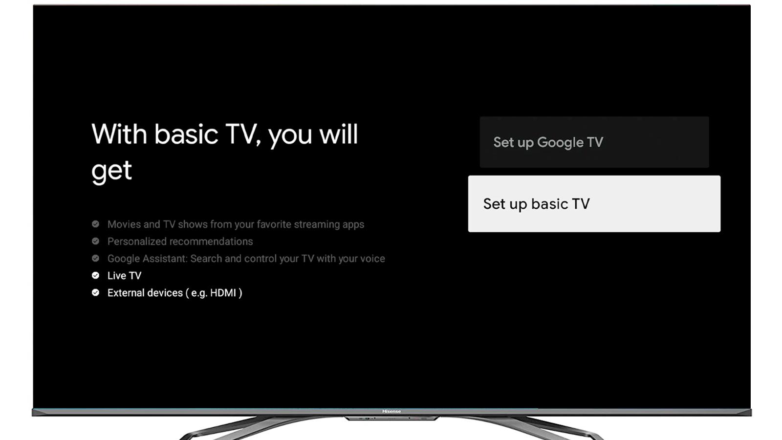 """Google TV's """"Basic"""" Mode Will Make Your Smart TV Dumb Again"""