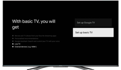 "Google TV's ""Basic"" Mode Will Make Your Smart TV Dumb Again"
