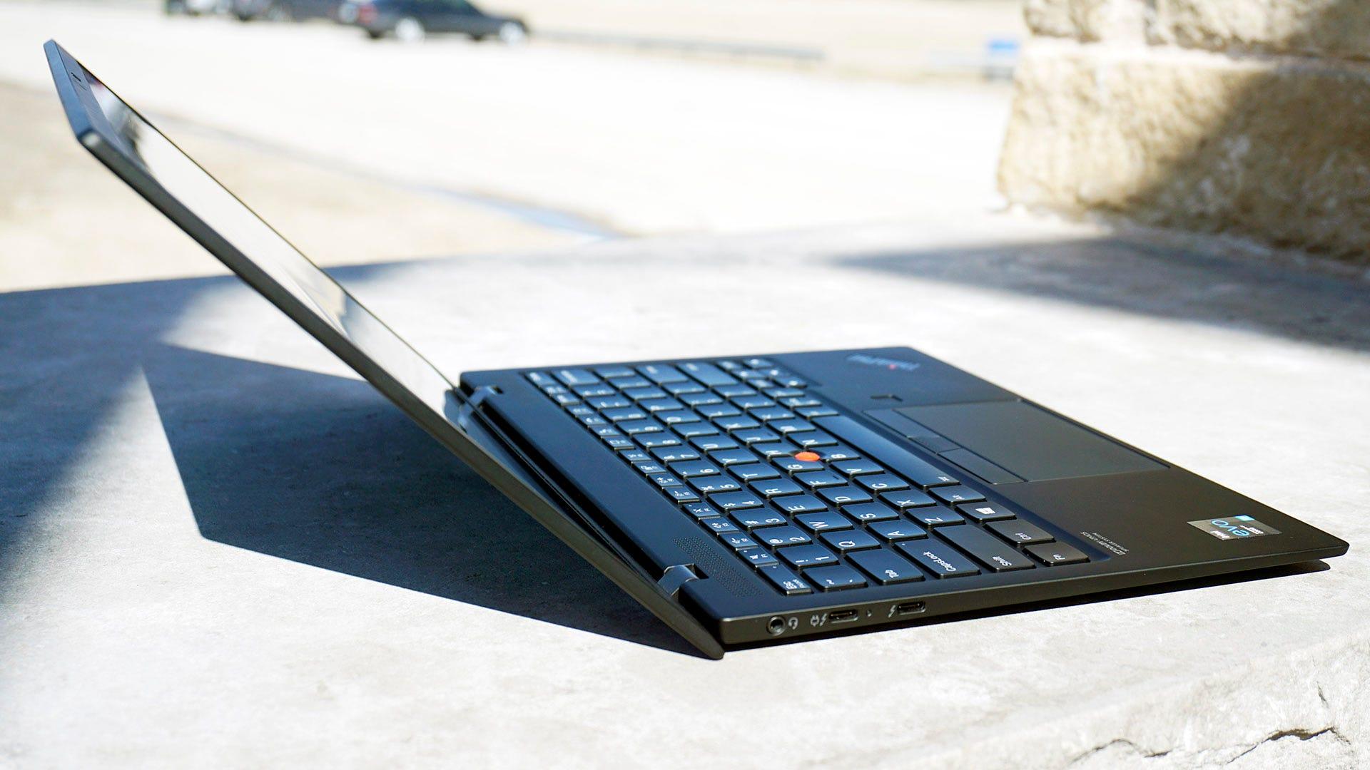 ThinkPad X1 Nano from the side