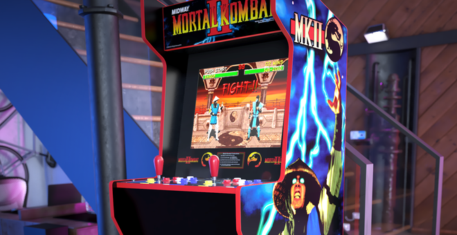Get Over Here! Pre-Order Arcade1Up's $399 'Mortal Kombat' Legacy Cabinet Now