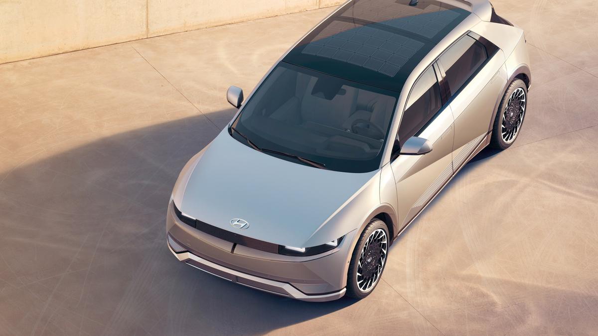 A photo of the Hyundai IONIQ 5 electric vehicle.
