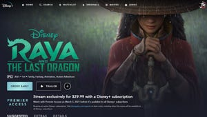 You Can Now Pre-Order 'Raya and the Last Dragon' on Disney+ for Thirty Bucks