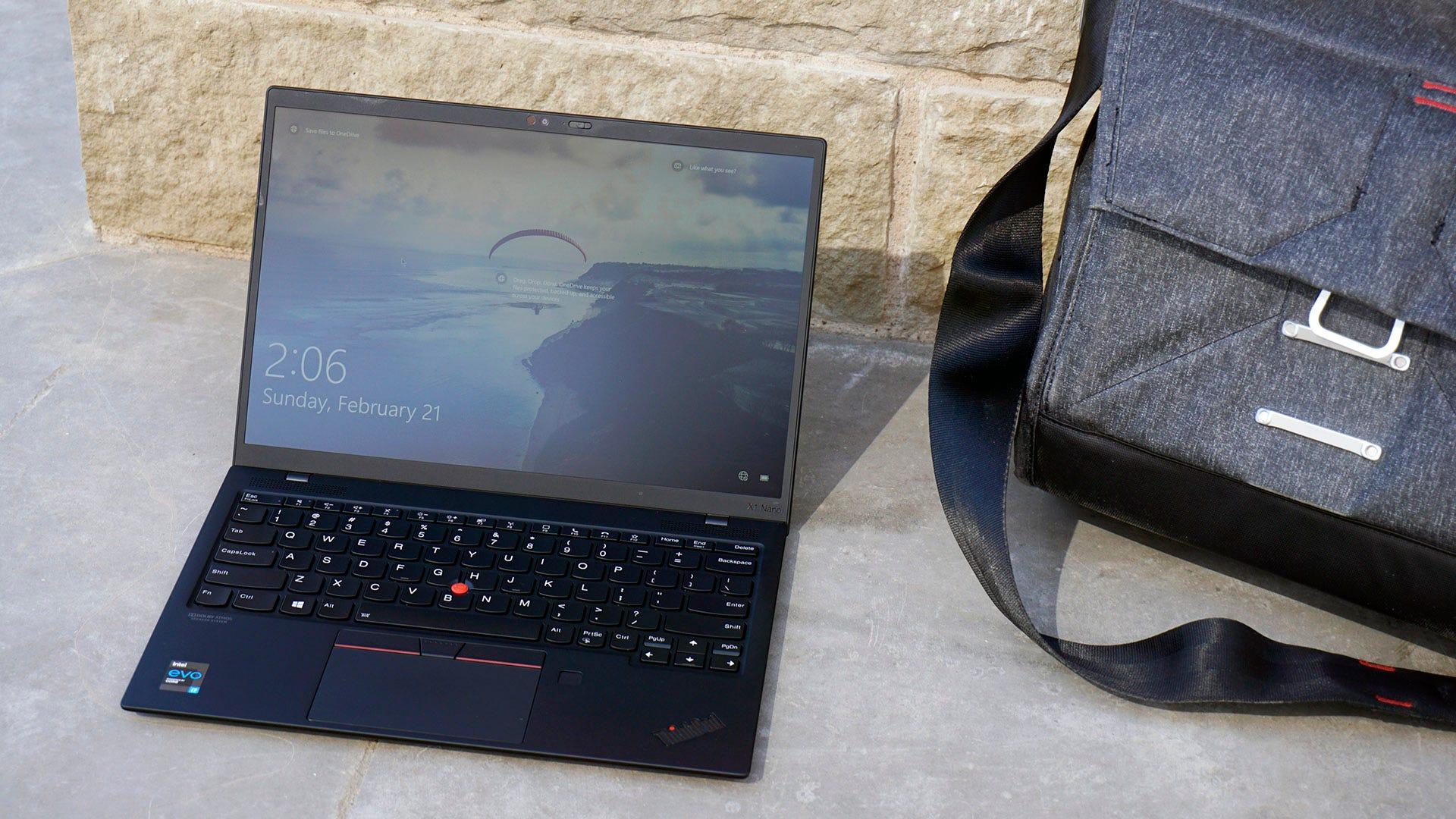 ThinkPad X1 Nano with bag