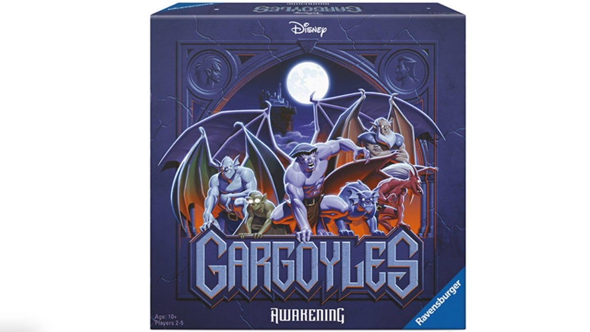Disney's Gargoyles: The Awakening game box