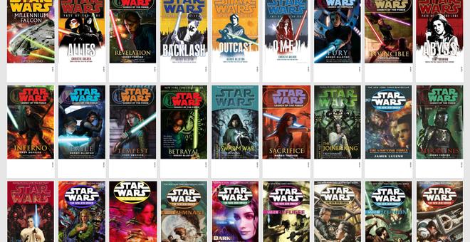 What We're Reading: The 'Star Wars' Novels Explore a Galaxy Far, Far Away
