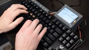 Zap Your Bad Typing Habits Away with This Electrifying Keyboard