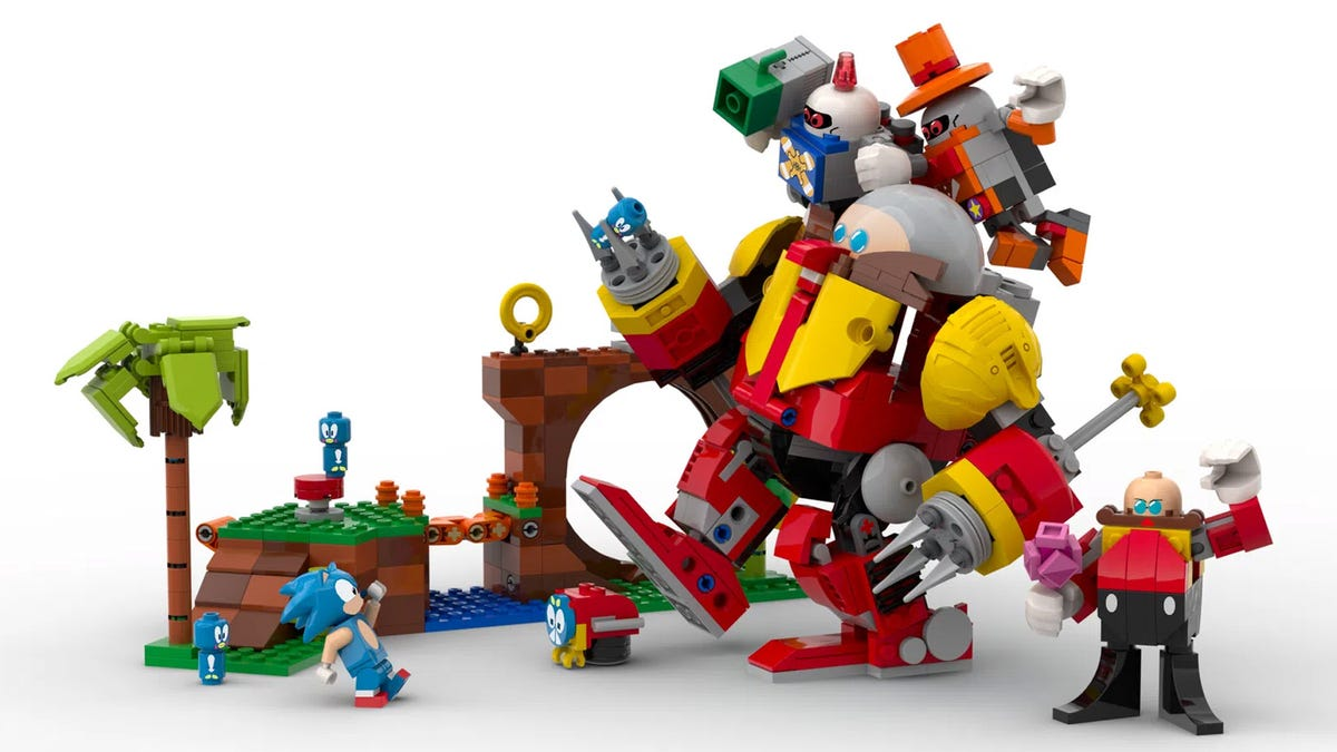 Sonic LEGO set