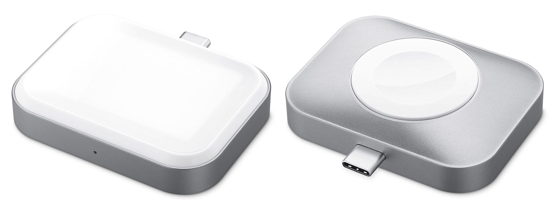 Double-sided Apple Watch and AirPods charger