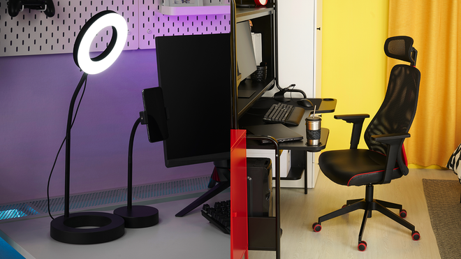 """Ikea's Line of """"Gamer Gear"""" is Clean and Minimal, No RGB In Sight"""