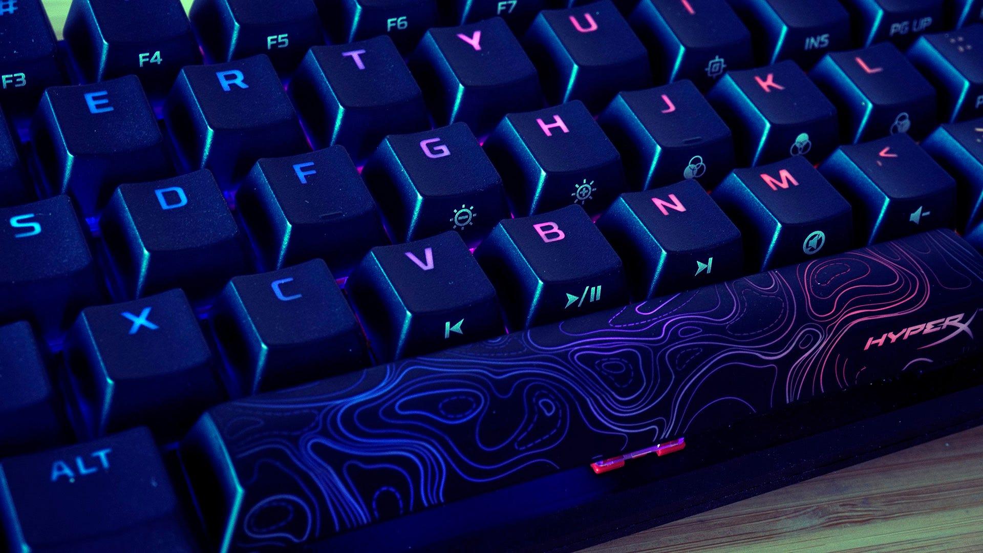 HyperX Alloy Origins 60 space bar