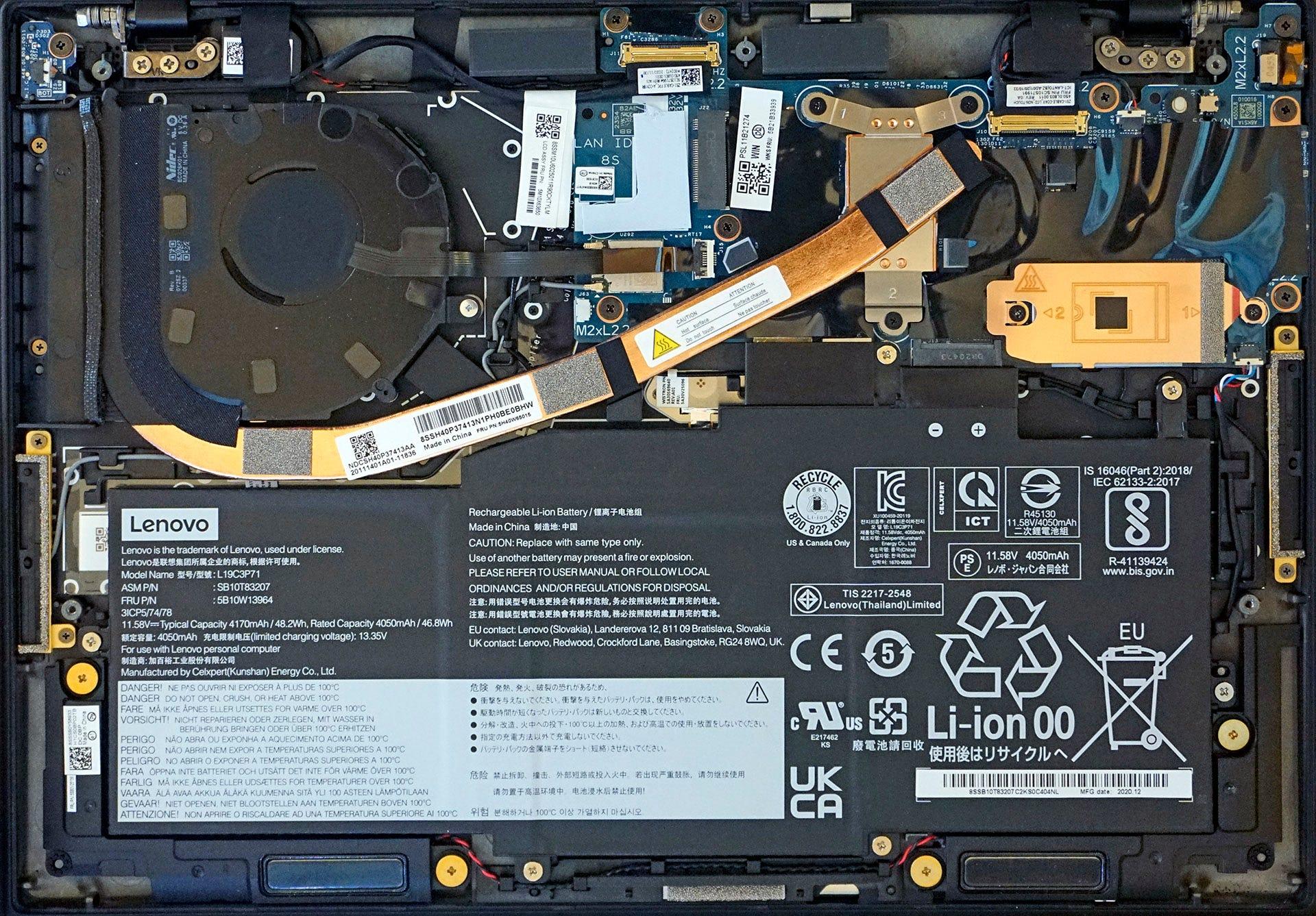 ThinkPad X1 Nano interior