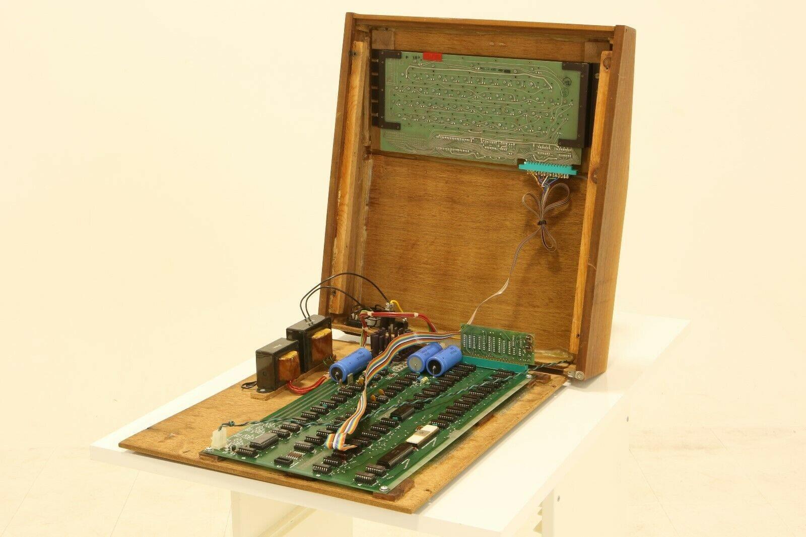 Apple 1 computer, open