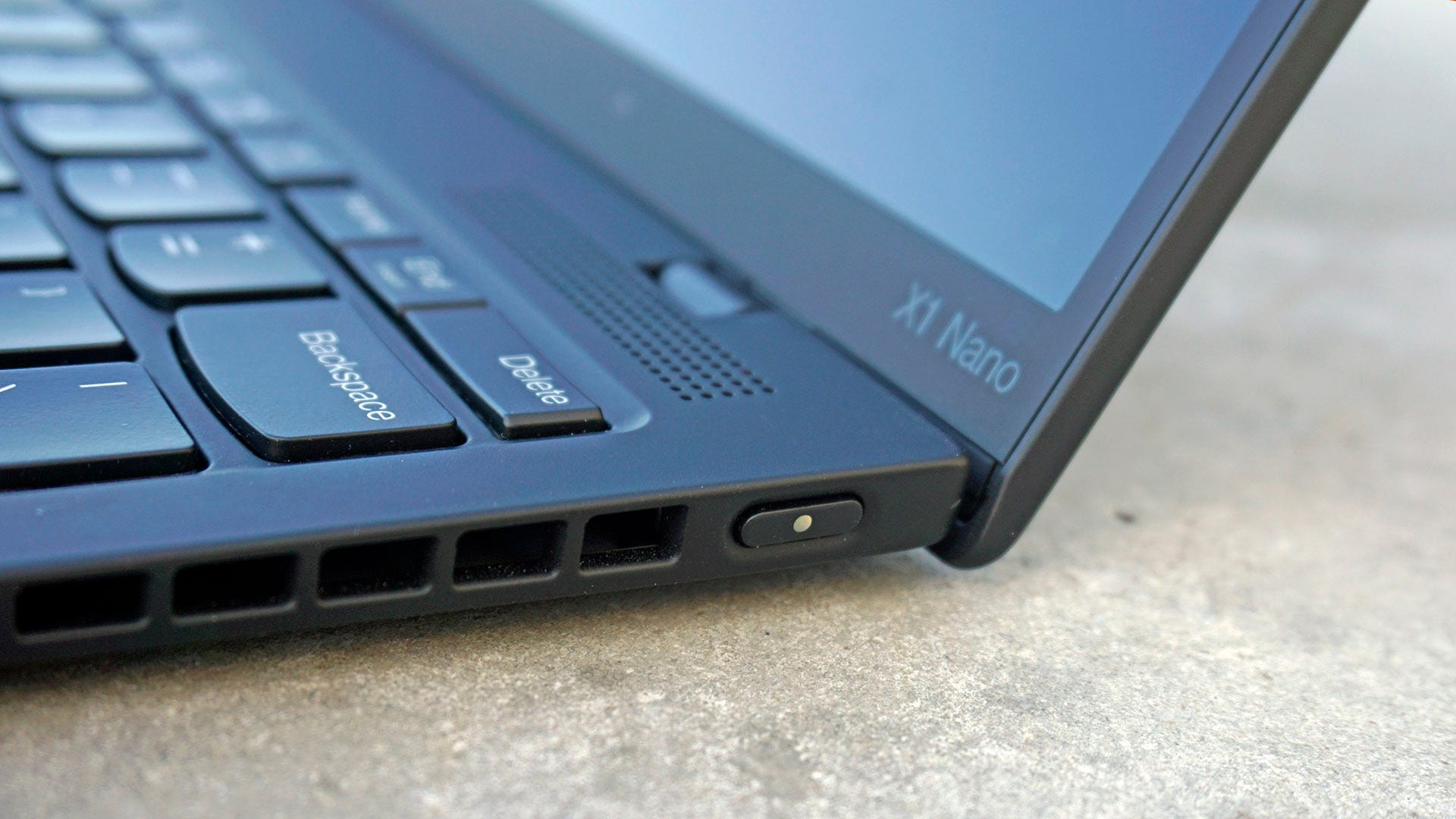 ThinkPad X1 Nano power button