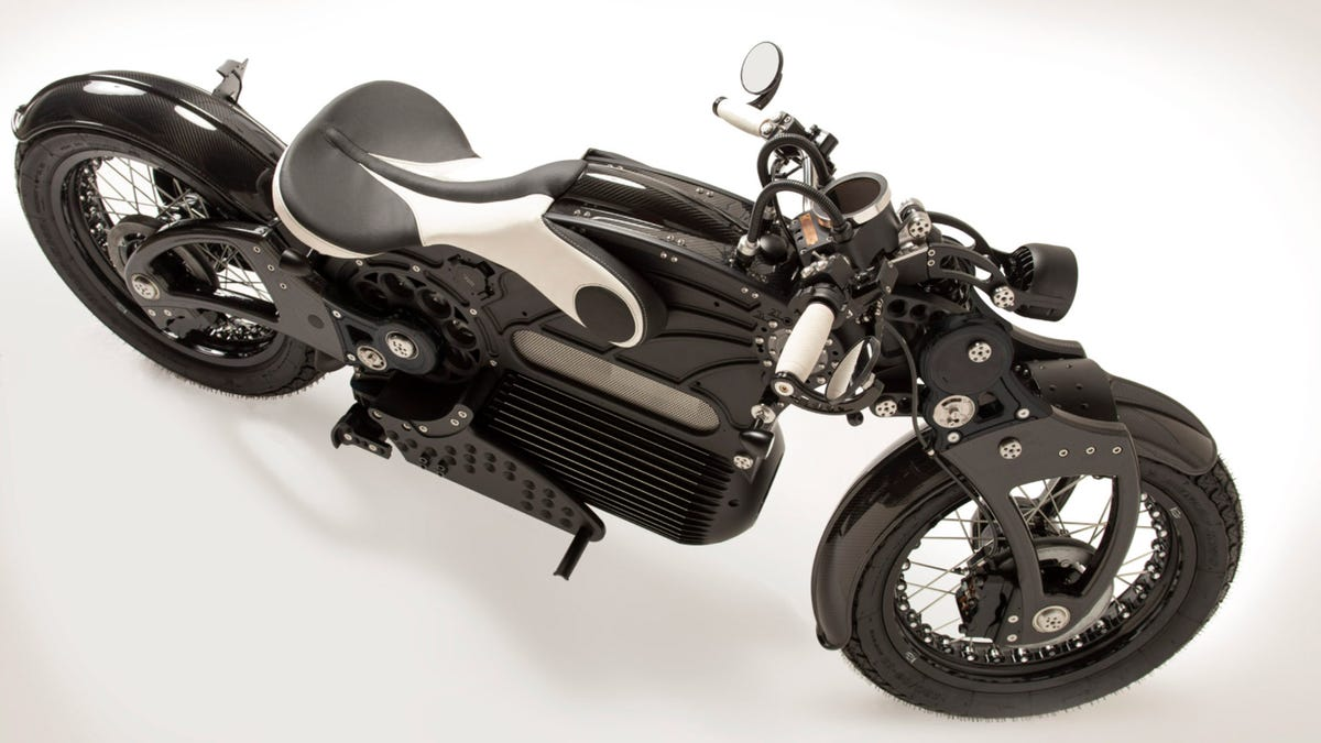 Curtiss One electric motorcycle