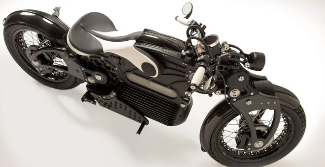 America's First Electric Cruiser Motorcycle Looks Like a Dieselpunk Dream