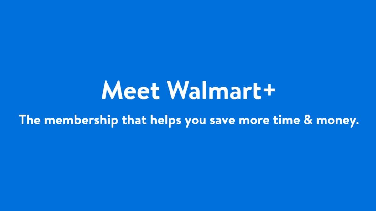 Walmart+ Promo Page