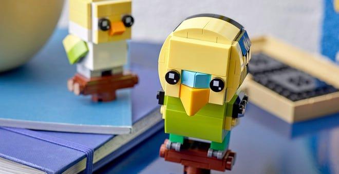 LEGO's Latest BrickHeadz Are Adorable Bobble-Headed Fish and Bird Pets