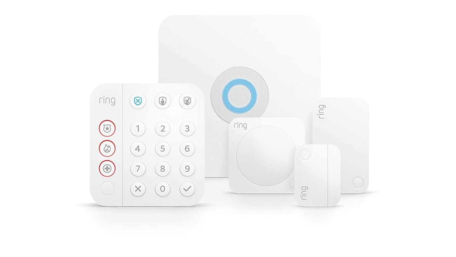 Ring Security System starter pack against a white background